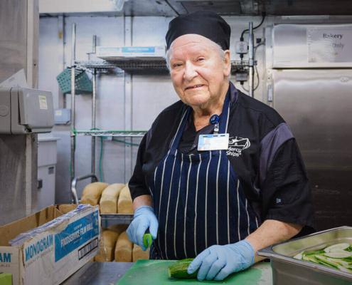 Diane vrijwilliger koken