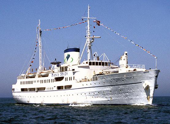 ziekenhuisschip Carribean Mercy Mercy Ships