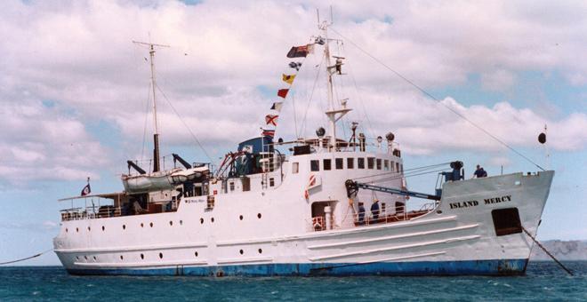 ziekenhuisschip Island Mercy Mercy Ships