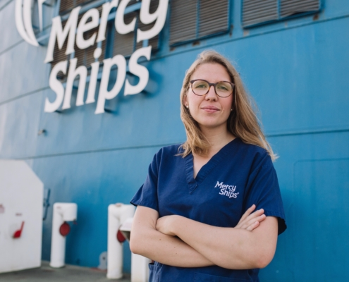 Anne Strycek Mercy Ships Africa Mercy