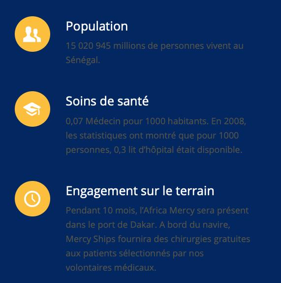 Sénégal Mercy Ships Africa Mercy