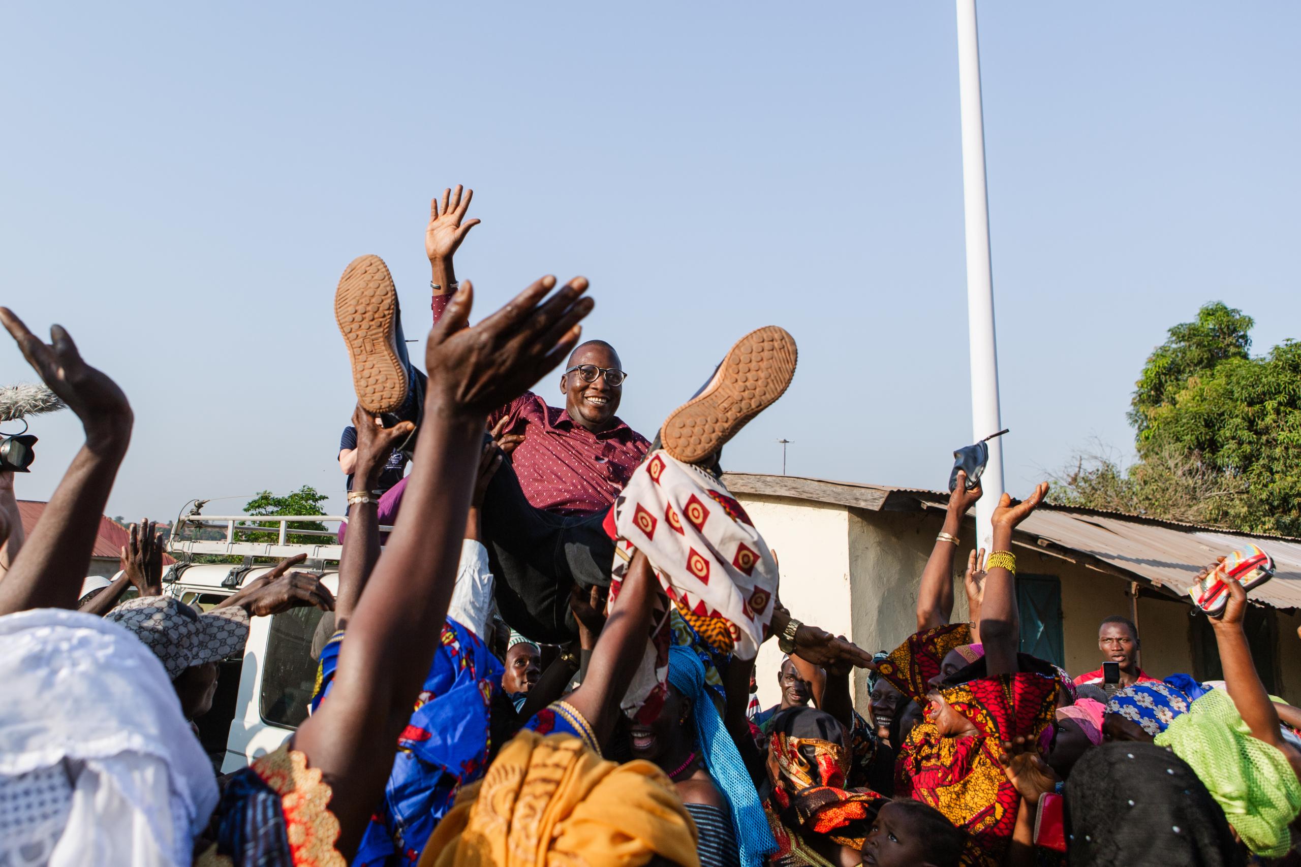 Dokter Amadou kan zijn eigen patiënten weer helpen