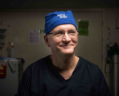 Topdokters Mercy Ships Gary Parker