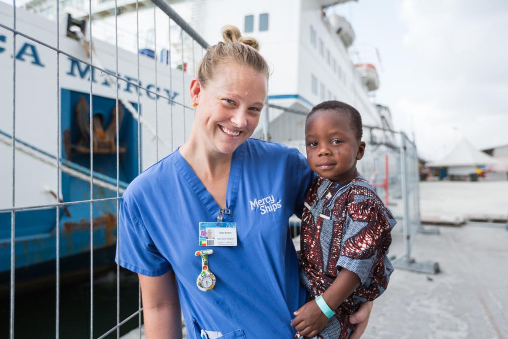 Word vrijwilliger Mercy Ships