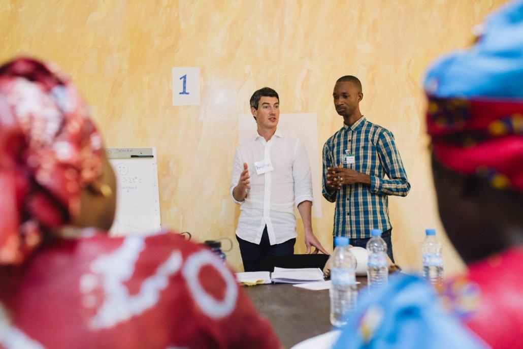 Duurzame hulp cursussen en training Mercy Ships