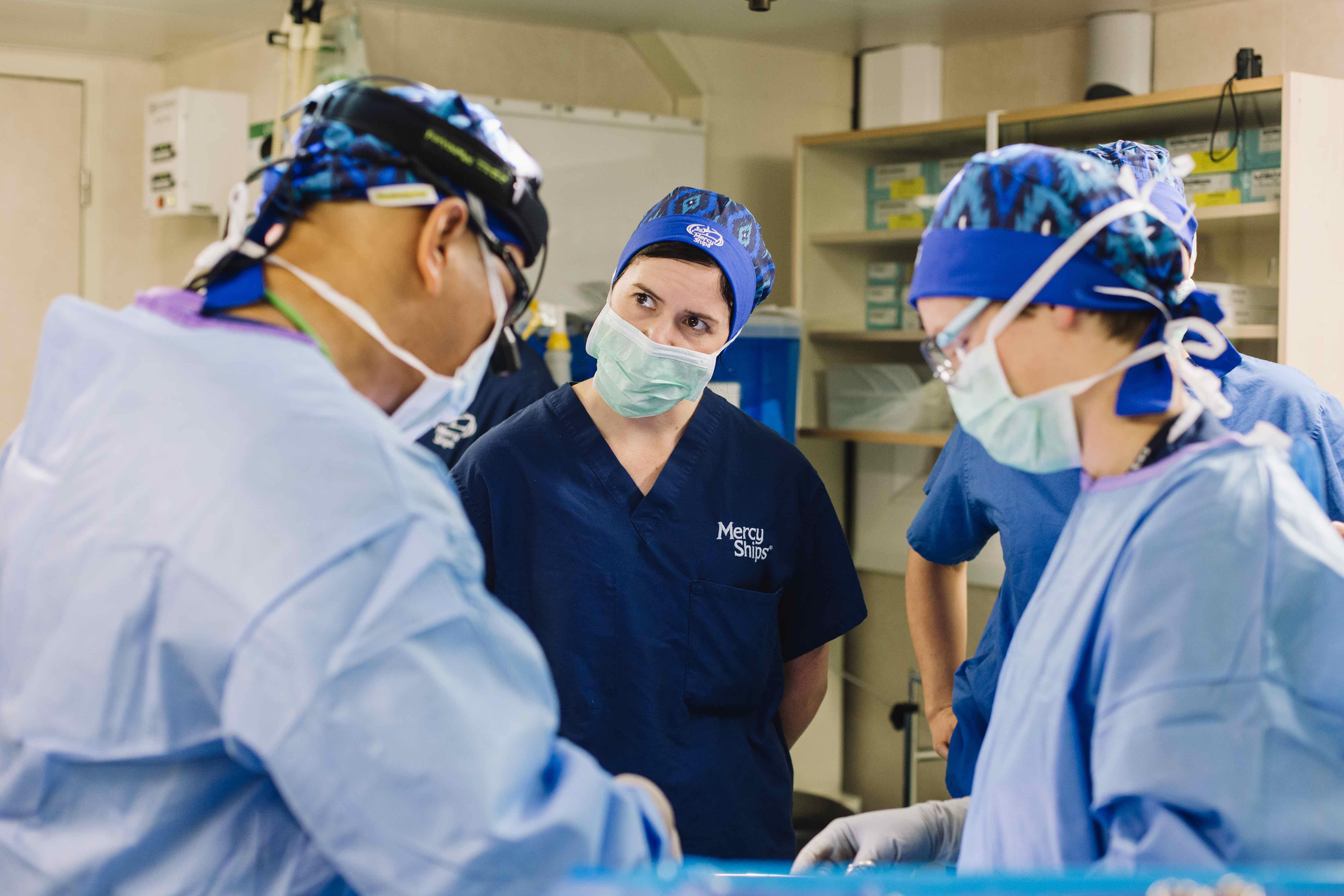 Algemene chirurgie Mercy Ships