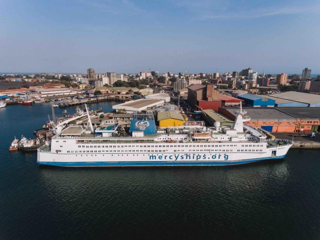 Africa Mercy Mercy Ships