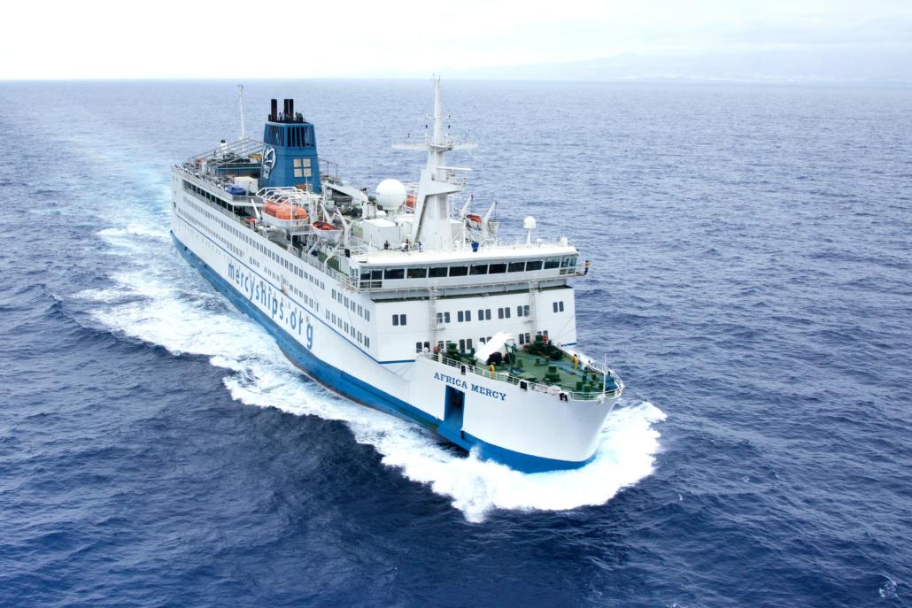 Ziekenhuisschepen Mercy Ships