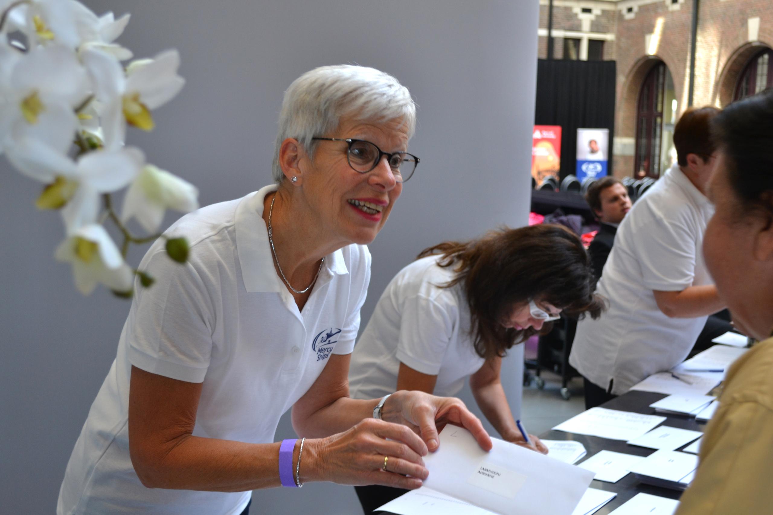 Word vrijwilliger in België bij Mercy Ships