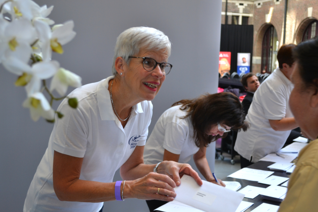 Word vrijwilliger in België Mercy Ships
