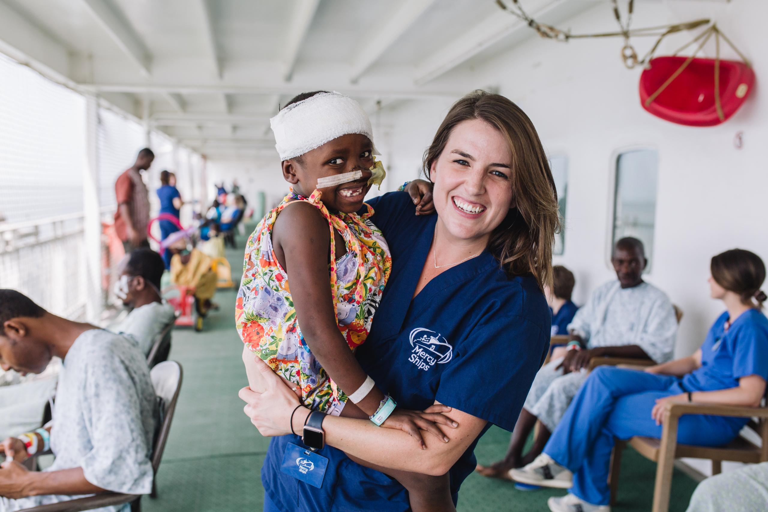 Word vrijwilliger in Afrika Mercy Ships