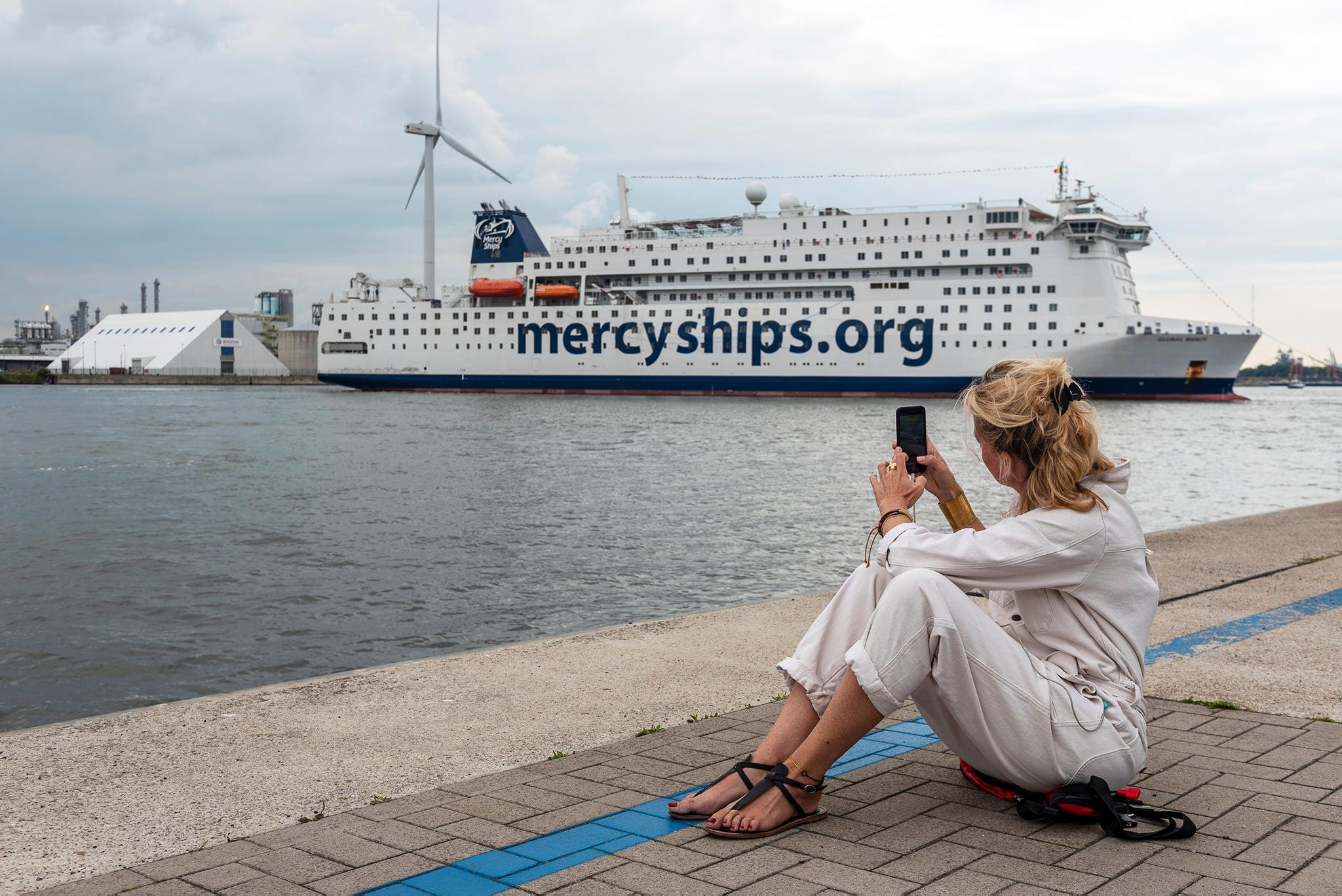 Global Mercy Shipspotting